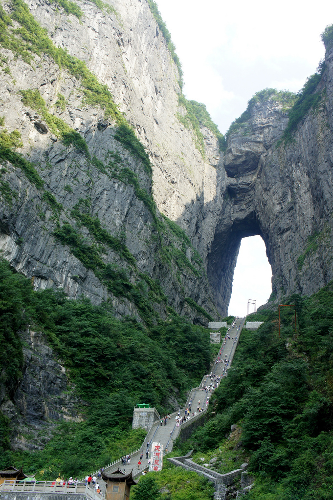 Tianmenshan-China