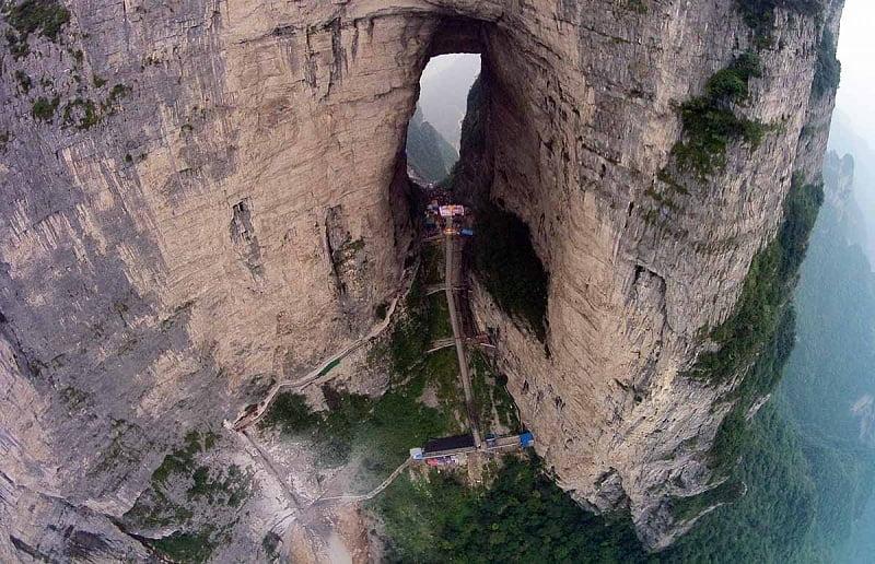 Tianmenshan-Zhangjiajie-China
