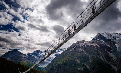Podul suspendat Charles Kuonen