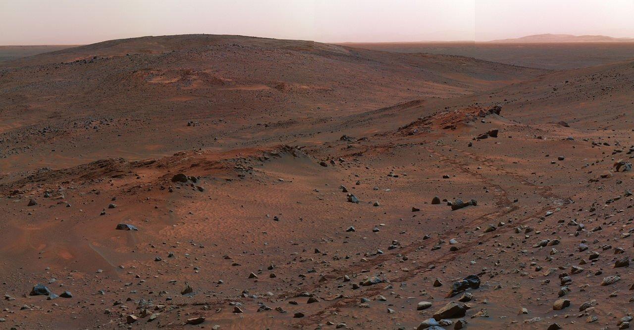 craterul Gusev Marte