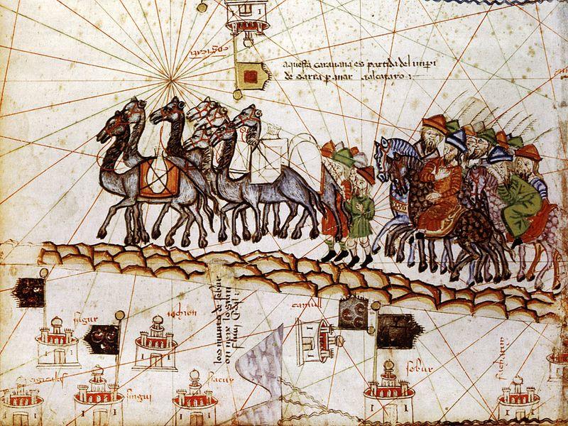 Caravana pe drumul mătăsii